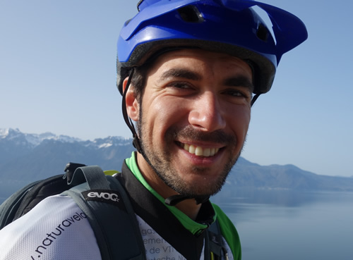 Pierre DAVIAU certified MTB guide BIKAPA
